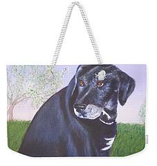 Tiko, Lovable Family Pet. Weekender Tote Bag