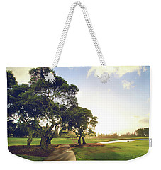 Weekender Tote Bag featuring the photograph 'til I'm In Your Arms Again by Laurie Search