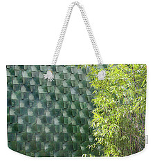 Tile Wall Of The Ringling Museum Asian Art Center Weekender Tote Bag