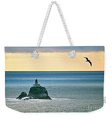Tillamook Lighthouse Weekender Tote Bag
