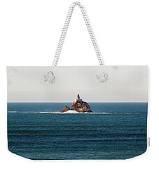 Tillamook Rock Lighthouse On A Calm Day Weekender Tote Bag
