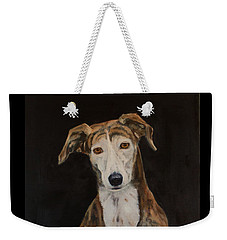 Tilly The Lurcher Weekender Tote Bag