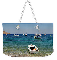 Tilos Island In Greece Weekender Tote Bag