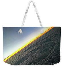 Weekender Tote Bag featuring the photograph Tilt Horizon by Robert Knight