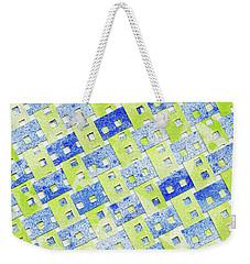 Tilted Order Weekender Tote Bag by Lori Kingston