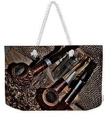 Tilted Pipes Weekender Tote Bag