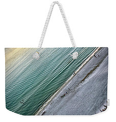 Tilted Rule Of Thirds Beach Sunset Weekender Tote Bag