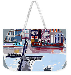 Tilting Windmills Weekender Tote Bag