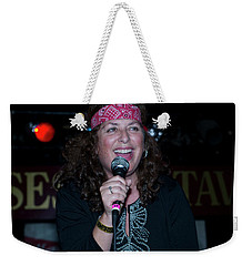 Tima Sings Hungry Heart Weekender Tote Bag