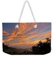 Timber Hollow Overlook Sunset 1 Weekender Tote Bag
