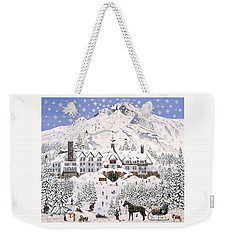 Timberline Lodge Weekender Tote Bag