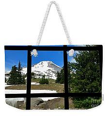 Timberline Lodge View Weekender Tote Bag