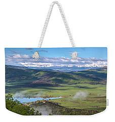 Timbers View  Weekender Tote Bag