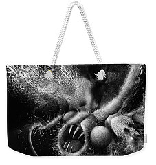 Weekender Tote Bag featuring the digital art Time Aerials Squamafly by Russell Kightley