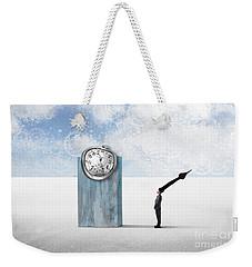 Time  Weekender Tote Bag by Aimelle ML