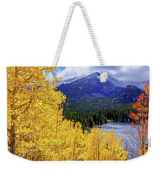 Weekender Tote Bag featuring the photograph Time by Chad Dutson