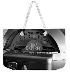 Time Expired Weekender Tote Bag