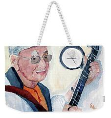 Time Flies Weekender Tote Bag by Sandy McIntire