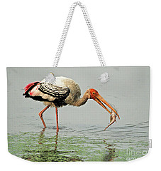 Time For A Meal Weekender Tote Bag