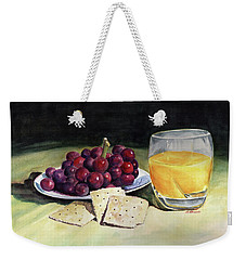 Time For A Snack Weekender Tote Bag
