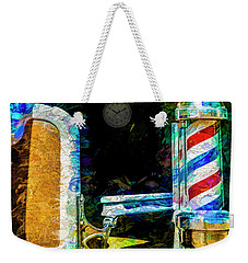Weekender Tote Bag featuring the photograph Time For A Trim by Paul Wear