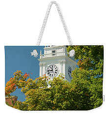 Time For Autumn Weekender Tote Bag