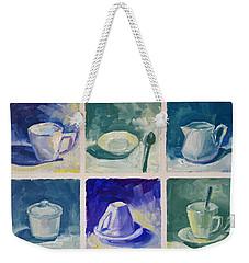 Time For Coffee Weekender Tote Bag