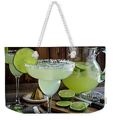 Weekender Tote Bag featuring the photograph Time For Margaritas by Teri Virbickis