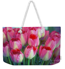 Time For Tulips Weekender Tote Bag by Patricia Strand