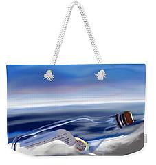 Time In A Bottle Weekender Tote Bag