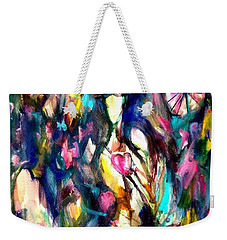Time Love Heart Weekender Tote Bag
