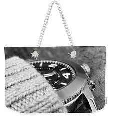 Weekender Tote Bag featuring the photograph Time Machine by Robert Knight
