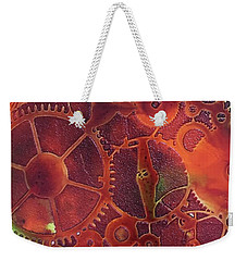 Time Marches On Weekender Tote Bag by Suzanne Canner