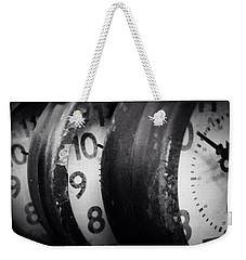 Time Multiplies Weekender Tote Bag