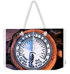 Time Of Day Weekender Tote Bag