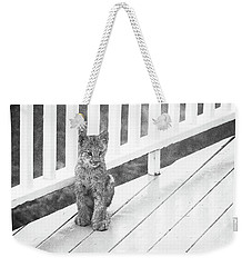 Time Out Bw Weekender Tote Bag
