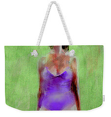 Weekender Tote Bag featuring the painting Time Out by Jim Vance