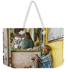 Weekender Tote Bag featuring the photograph Kumarakom by Marion Galt