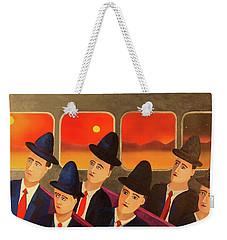 Time Passes By Weekender Tote Bag