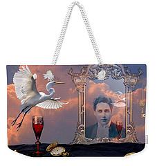 Time Reflection Weekender Tote Bag