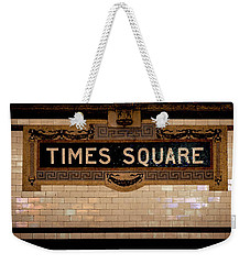 Time Square Weekender Tote Bag