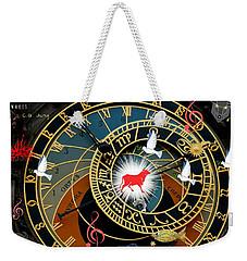 Time Stops Weekender Tote Bag
