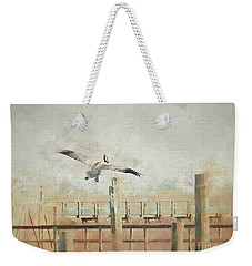 Time To Go Weekender Tote Bag