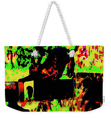 Time To Stretch Weekender Tote Bag by Gina O'Brien