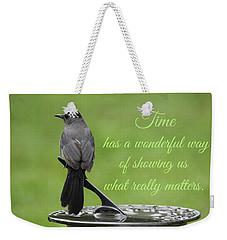Time Weekender Tote Bag