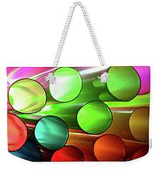Time Tubes Weekender Tote Bag