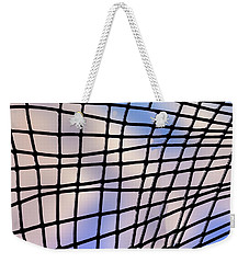 Weekender Tote Bag featuring the photograph Time Warp by Paul Wear