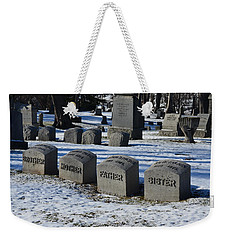 Timeless Family Weekender Tote Bag