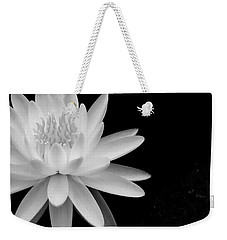Black And White -timeless Lily Weekender Tote Bag