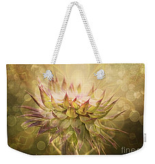 Timeless Thistle Weekender Tote Bag